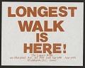 View Longest Walk Is Here! digital asset number 0