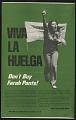 """View Poster, """"Viva la Huelga/ Don't buy Farrah pants!"""" digital asset number 1"""