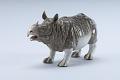 View Meissen figure of a rhinoceros digital asset number 1