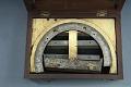 View Crozet Protractor Signed by Pike digital asset: Crozet semicircular protractor