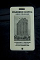 View Marberc Hotel luggage tag digital asset number 0