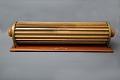 View Keuffel & Esser 4012 Thacher Cylindrical Slide Rule digital asset: K&E Thacher cylindrical slide rule, Model 4012, back.