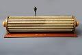 View Keuffel & Esser 4013 Thacher Cylindrical Slide Rule digital asset: K&E Thacher Cylindrical Slide Rule, Model 4013, Back