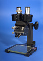 View Microscope digital asset: microscope, front view