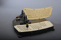 View Pantograph Card Punch Used at the United States Bureau of the Census digital asset: Pantograph Card Punch for Hollerith Punch Cards and Punch Board for Pantograph Punch
