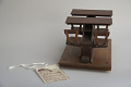 View James S. Rankin's 1879 School Desk and Seat Patent Model digital asset: Original tag.