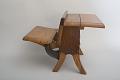View Rutledge T. Hoffman's School Desk and Seat Patent Model digital asset number 5