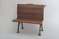 View John L. Riter's 1873 School Desk and Seat Patent Model digital asset number 5