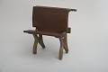 View William A. Slaymaker's 1870 School Desk and Seat Patent Model digital asset number 4