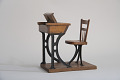 View Hamilton S. McRae's 1867 School Desk and Seat Patent Model digital asset number 5