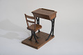 View Hamilton S. McRae's 1867 School Desk and Seat Patent Model digital asset number 6