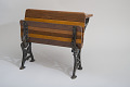 View William A. Bradford's 1875 School Desk and Seat Patent Model digital asset number 3