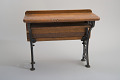 View William A. Bradford's 1875 School Desk and Seat Patent Model digital asset number 4