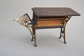 View Aaron W. Hempleman's 1876 School Desk and Seat Patent Model digital asset number 5