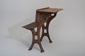 View Albert E. Roberts's 1870 School Desk and Seat Patent Model digital asset number 3