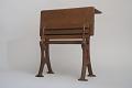 View Albert E. Roberts's 1870 School Desk and Seat Patent Model digital asset number 5