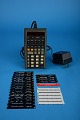 View Hewlett-Packard HP-65 Handheld Electronic Calculator digital asset: Hewlett-Packard HP-65 Handheld Electronic Calculator with Power Adapter and Programming Cards