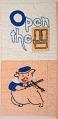 "View 1938 - 1945 Brenda Brown's ""Three Little Pigs"" Quilt digital asset number 1"