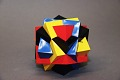 View Geometric Model by A. Harry Wheeler, Union of Four Cubes digital asset: Geometric Model by A. Harry Wheeler, Union of Four Cubes