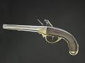 View Norty & Cheney Model 1799 Flintlock Pistol, Second Model digital asset: Model 1799 Pistol, Second Model, reverse.