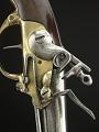 View Norty & Cheney Model 1799 Flintlock Pistol, Second Model digital asset: Model 1799 Pistol, Second Model, detail, lockplate.