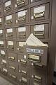 View Phyllis Diller's Gag File digital asset: Close-up view of Phyllis Diller's Gag File