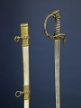 View Sword Presented to Frank Wheaton digital asset: Presentation sword, given to General Frank Wheaton by the Non-Commissioned Officers and Privates of the 2nd Regiment R.W. Volunteers, December 13, 1862.