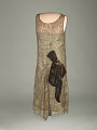 "View Grace Coolidge's Brown Lace ""Flapper"" Dress digital asset number 0"