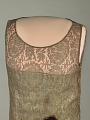 "View Grace Coolidge's Brown Lace ""Flapper"" Dress digital asset number 1"