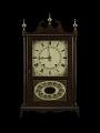 View A Pillar-and-Scroll Shelf Clock digital asset number 2