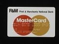 View First & Merchants National Bank Mastercard Credit Card, United States, 1984 digital asset number 0