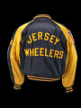 View Basketball jacket worn by Ray Werner as a member of the Jersey Wheelers the National Wheelchair Basketball Association Champions, 1954 digital asset number 2