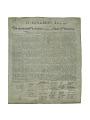 View Print, Declaration of Independence, 1823 digital asset number 0