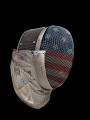 View Fencing mask worn by Ibtihaj Muhammad during the 2016 Rio Olympic Games digital asset number 2