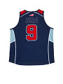 View Jersey used by the USA Wheelchair Rugby team during the 2014 season digital asset: jersey, wheelchair rugby
