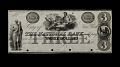 View 3 Dollars, National Bank, New York, United States, 19th century digital asset number 0