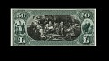 View 50 Dollars, Proof, National Bank Note, United States, 1892 digital asset number 0