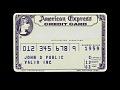 View Sample American Express Credit Card, United States, 1963 digital asset number 0