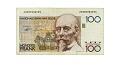 View 100 Francs, Belgium, 1978 - 1981 digital asset number 2
