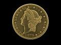 View 20 Dollars, Pattern, United States, 1879 digital asset number 0