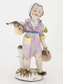 View Meissen figure of a child fish seller digital asset number 0