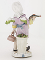 View Meissen figure of a child fish seller digital asset number 1