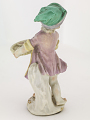 View Meissen figure of a child pastry seller digital asset number 1