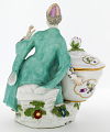View Meissen figure of a woman in Turkish dress from a plat de ménage digital asset number 2