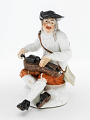 View Meissen figure of a hurdy-gurdy player digital asset number 0