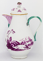 View Meissen coffee pot and cover (part of a service) digital asset number 2