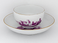 View Meissen cup and saucer (part of a service) digital asset number 0