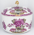 View Meissen sugar bowl and cover (part of a service) digital asset number 1