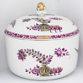 View Meissen sugar bowl and cover (part of a service) digital asset number 2