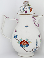 View Meissen coffee pot and cover (part of a service) digital asset number 3